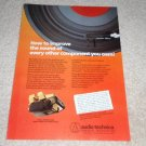 Audio Technica AT155lc Cartridge Ad, 1982, Article