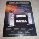 Nagra VPA Amp Ad, Pl-P Preamp Ad from 2000