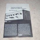 Sony TA-1120 Amplifier Ad, 1966,Article, Specs