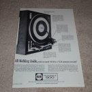 BSR McDonald 500 Turntable Ad, 1966, Features, Article