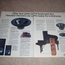 ADS M12 Speaker Ad from 1988, 2 pages, CM7,CM5