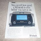McIntosh MC1000 Power Amp Ad from 1992,AMAZING!