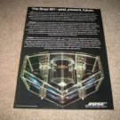 BOSE 901,Clear Speaker Demo Ad from 1978,RARE!