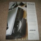 Meridian 508 CD Player AD from 1994,color,very nice!