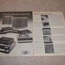 Altec Lansing 2 pg Ad fr 1970,724,2875a,725,714,911a