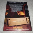 Audio Research D240 Power Amplifier Ad from 1992