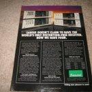 Sansui Z-9000X, Z-7000X Receivers Ad from 1983,specs!