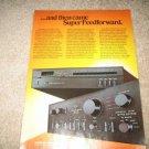 Sansui Vintage Ad 1982 AU-D11 TU-59,Amplifier, Tuner