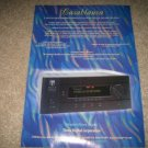 Theta Casablanca Pre Amp Ad from 1997 Mint
