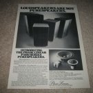 Phase Linear P-500 Series Speakers Ad from 1981