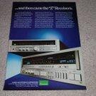 Sasnsui Z Series,7900z,4900z Receiver Ad,1985,Nice!