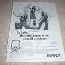 Empire Jupiter Speaker AD, 6500, 1974, very rare!