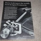 Dual Tonearm Ad, 1978, Article,1237 Turntable Ad