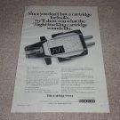 Empire Ad, 1968, 999ve Cartridge, Article, Specs