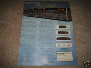 Heathkit Modulus AD from 1975,QUAD! Rare Ad! High End!