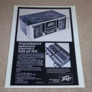 Peavey CS-800 Amplifier Ad, 1977, Specs, Article, RARE!