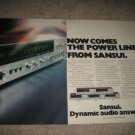 Sansui 881,771,661,551,441 Receiver Ad from 1975