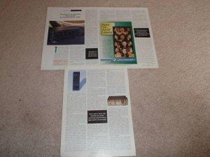 Harman Kardon hk6950r Integrated Amp Review, 1993, 3 pg