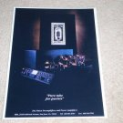 MFA Pure Tube Ad, 1991, Frame it! Beautiful Rare Ad!