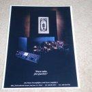 MFA Pure Tube Ad, 1991, Frame it! Beautiful Rare Ad!