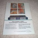 Krell Studio D to A conv Ad from 1992, RARE!