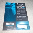 Hafler Model 9500 Power Amp Ad from 1992,Nice!