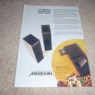 Meridian HD Music System Ad from 1994