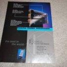 Krell KAV-250,300cd,250p Pre, Amplifier,CD Ad from 1997