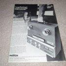 Revox B77 Open Reel Deck Ad from 1978
