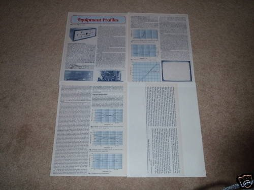 Phase Linear 4000 Preamp Review,1975,4 pgs,FULL TEST