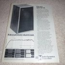 ADC XT-10 Speaker Ad from 1974, Article, Specs, RARE!