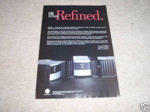 Mark Levinson No 334,335,336 mono Amp Ad 1999