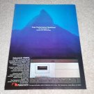 Nakamichi 700ZXL Cassette Ad,Beautiful! 1981,Mint,Best!
