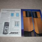 Bose 10.2 Series II SPeaker AD from 1988, Article