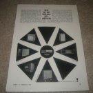 JBL C38,Olympus,C53,Paragon Speaker Ad from 1964 RARE!