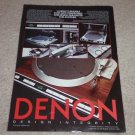 Denon DP-45f Turntable Ad,DP-15f, 1983, Article, NICE!