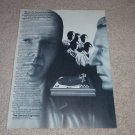 Garrard Zero 100 Turntable Ad,Article,Rare Ad, 1973