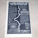 "Celestion SL-6 Speaker Ad, Article, 1982, 6""x9"""
