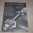 Dual 1237 Turntable Ad, 1977, Article, Nice Ad!