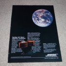 Bose 901 Speaker Ad,World view! World reviews,1 page