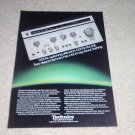 Technics SU-V8 Amplifier Ad,specs,ST-S7 Tuner,Rare one!