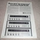 Scott R77S,75S,74S Receiver AD from 1974, specs, NICE!