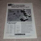 Shure Type IV Cartridge Ad,M97 Era IV,specs,article