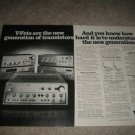 Sony V-FET Amplifier Ad from 1977,TA-4650,5650,8550