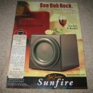 Sunfire True Subwoofer Ad from 2001, Bob Carver