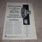 Goodmans Ad, Axiom 80 Speaker Ad, Specs, 1956, Article