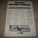Yamaha Receiver Ad CR-1000,800,600 Ad from 1975,specs