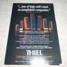 Thiel SCS2,1.5,3.6,5i,7,2.2,.5 Speaker Ad 1996