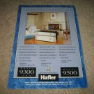 Hafler 9300THX,9500 Amps Ad from 1994,very nice Ad!