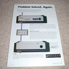Proceed Amp 2,Amp 3, PAV Ad from 1996,RARE!!